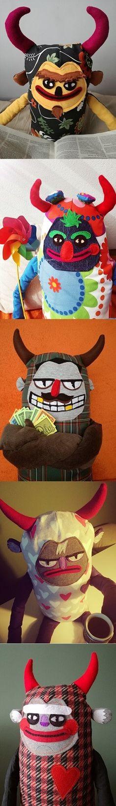 They are devil plush toys, devil stuffed animals, giant plush toys, lage stuffed animal, giant softies. #StuffedAnimal #GiantPlush