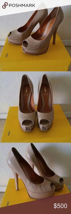 Fendi Heels EXcellent used condition Fendi Shoes Heels
