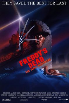 ~Robert Englund As Freddy Krueger ~A Nightmare On Elmstreet ~ Horror Posters, Horror Icons, Horror Films, Movie Posters, Freddy Krueger, Robert Englund, The Crow, Scary Movies, Great Movies