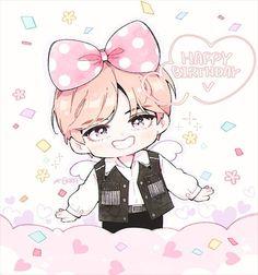 "KPOPFAN di Instagram ""#happyvday #happyvirthday #V #taehyung #vfanart #taehyungfanart #Jungkook #Rapmonster #Namjoon #Jimin #suga #Jin #Jhope #Suga #bts…"" Namjoon, V Taehyung, Jung Kook, Rap Monster, Boy Birthday, Happy Birthday, Bts Twice, Pokemon, Fan Art"