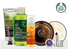 20 Voucher to The Body Shop for Just 10 from Living Social Italian Ice, Vash, Facial Wash, Essential Fatty Acids, Online Deals, Online Shopping, The Body Shop, Body Scrub, Natural Skin Care