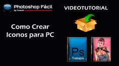 Como crear iconos para PC Photoshop Fácil Yanko0