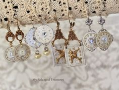 My Salvaged Treasures: My Jewelry Creations