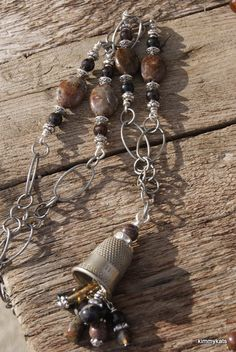 Love the idea with one of my vintaj bead caps