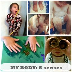 Great ideas for activities that use all 5 senses