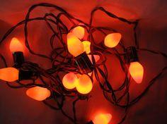Vintage 1960's Lot Of 21 Orange Christmas by AuntSuesVintage, $12.99