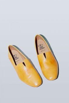 king tartufoli nappato slipper in curry