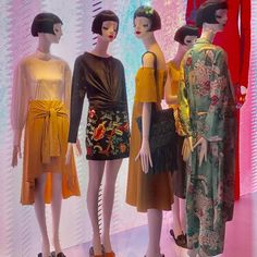 """Who you choose to be around you lets you know who you are"", Tokyo, Japan, Aloof Mannequins by Bonaveri Italy, pinned by Ton van der Veer"