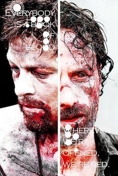 The Walking Dead  Rick & Daryl