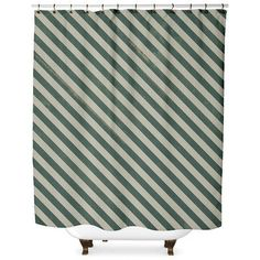 Wildon Home  Mellina Shower Curtain Color: Green
