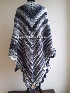 16 Best Ponchos Images Shawl Crochet Poncho Crochet Scarves