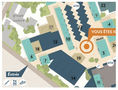 Les Olympiades Wayfinding System on Behance Map Design, Design Projects, Maps, Behance, Creative, Olympics, Blue Prints, Map, Cards