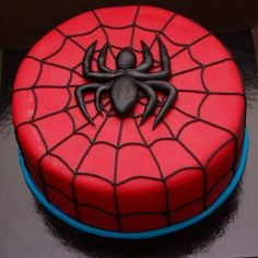 birthday cake for boys ~ birthday cake - birthday cake for women - birthday cake ideas - birthday cake recipe - birthday cake decorating - birthday cakes for men - birthday cake kids - birthday cake for boys Spiderman Torte, Spiderman Birthday Cake, Superhero Cake, Birthday Cakes For Men, Novelty Birthday Cakes, 4th Birthday, Women Birthday, Cake Birthday, Birthday Gifts