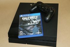 Sony PlayStation 4 PS4 500GB Black Edition w/ Call of Duty Ghosts (Latest Model)…