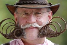 Best of the European Beard and Mustache Championships  The 2012 European Beard and Moustache Championships in Wittersdorf, France, drew up to 100 participants, each with more luxuriant facial hair than the last. Here's a few of our favorites.