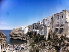 Polignano A Mare nel Puglia
