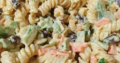 Don't buy this from the supermarket deli, make your own, it's so easy! Curry Pasta Salad, Pasta Salad Recipes, Carrot Curry, Curry Paste, Easy Meals, Easy Recipes, Deli, Food To Make, Salads