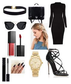 """""""Untitled #131"""" by emojianesa on Polyvore featuring Dolce&Gabbana, Quay, Urban Outfitters, Michael Kors, Smashbox and Gucci"""