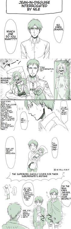 Jean x Mikasa   Shingeki no Kyojin  