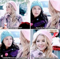 Pretty Little Liars-Mona and Hanna