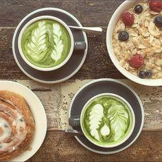 Breakfast perfection :) www.zengreentea.com.au #matcha #superfood