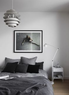 'Minimal Interior Design Inspiration' is a weekly showcase of some of the most perfectly minimal interior design examples that we've found around the web - all Scandinavian Interior Design, Scandinavian Home, Home Interior, Modern Interior Design, Interior Design Inspiration, Design Ideas, Danish Interior, Bedroom Inspiration, Contemporary Interior