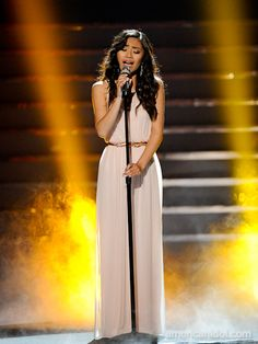 "Jessica Sanchez originally sang ""I Have Nothing"" by Whitney Houston during Las Vegas week, she chose to perform it again for the Season 11 Finale."