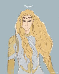 collection of sketches — Glorfindel Glorfindel, Morgoth, Tolkien, O Silmarillion, Heaven Art, The Elf, Middle Earth, Lord Of The Rings, Lotr