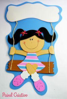 Muñeca portada cuaderno foamy