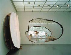 Sculptures and installations by Urs Fischer.