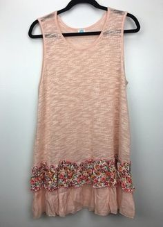 Buy my item on #vinted http://www.vinted.com/womens-clothing/sleeveless-and-tank-tops/22585451-woven-floral-pink-tank