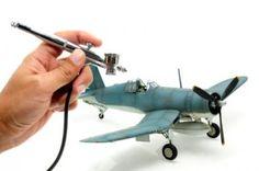 Malowanie modeli aerografem