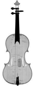 CT scan stradivarius violin