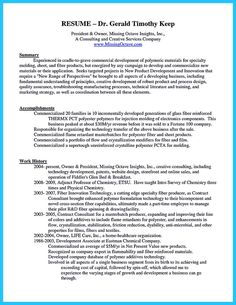 Cool Outstanding Keys To Make Most Attractive Business Owner Resume, Check  More At Http: