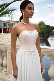 Rose color wedding dress Cristina - Tina Valerdi 2017