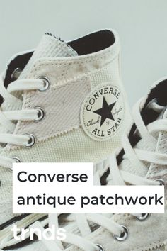 "Upon the release of its bold Twisted Classic Collection, Converse has now unveiled its latest Chuck 70 Hi silhouette and it sports ""Antique Patchwork"". Shades Of Beige, Latest Sneakers, Sneaker Release, Latest Shoe Trends, Classic Collection, Vans Old Skool, Fashion Games, Corduroy, Nike Air Max"