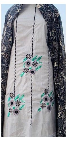 Peacock Embroidery Designs, Kurti Embroidery Design, Cutwork Embroidery, Embroidery Fashion, Machine Embroidery, Sleeves Designs For Dresses, Dress Neck Designs, Stylish Dress Designs, Punjabi Suits Designer Boutique