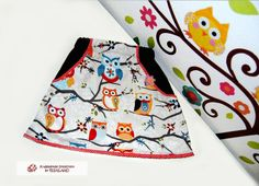 owl skirt from krabbelkee collection by Feenland on DaWanda.com