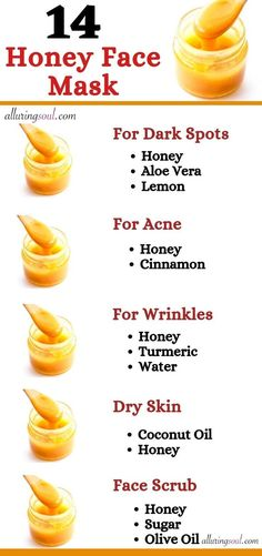 14 Honey Face Mask For Naturally Clear And Glowing Skin – face mask Clear Skin Face Mask, Face Skin Care, Diy Skin Care, Glow Skin Mask, Mask For Glowing Skin, Face Mask For Pimples, Face Care Tips, Skin Care Masks, Beauty Tips For Glowing Skin