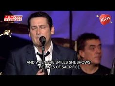 Spandau ballet - Through the barricades (with lyrics) - Top 2000 In Concert 2009
