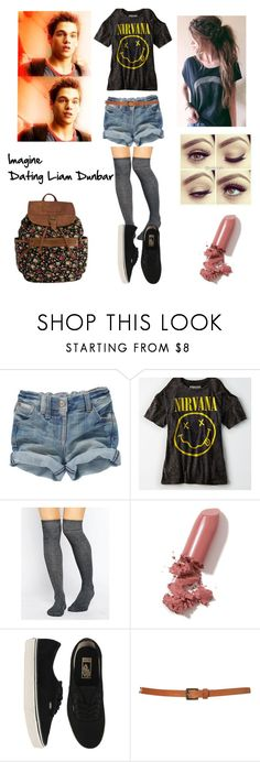 """Liam Dunbar Imagine"" by lexi-pierce123 ❤ liked on Polyvore featuring American Eagle Outfitters, ASOS, LAQA & Co., Vans, Topshop and Dunbar"