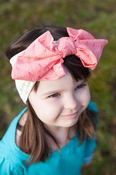 Kotimainen tyttöjen rusettipanta | Poutapukimo