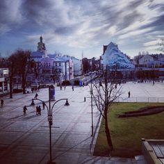 widok z pokoju Bayjonn Hotel room view from Bayjonn hotel in Sopot