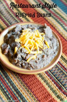 Prepare delicious refried beans from scratch with this recipe it will  taste just like a restaurant's.  These make the perfect side dish for your next meal.  These can be made healthy when you make them at home.