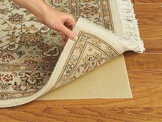 Depiction of Give Your Favorite Rug Extra Protection with Best Rug Pads for Hardwood Floors