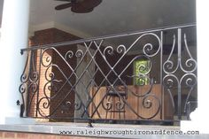 Raleigh NC custom wrought iron railings Raleigh Wrought Iron Co.