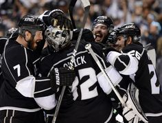 My pick to win it out West--Go Kings!