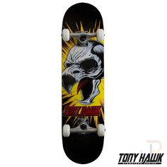 Tony Hawk 360 Series Complete Screaming Hawk Black 8.0 Inch