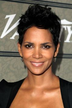 Halle Berry's signature short cut will always be a winner in our book.