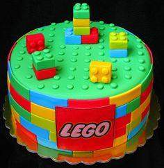 Gemelares - O Portal da Mãe Coruja!: Bolos - Festa Lego